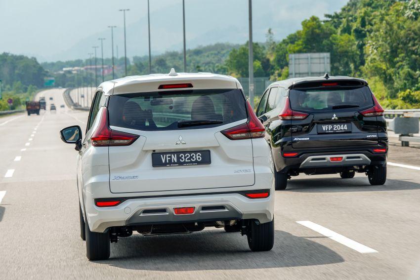 FIRST DRIVE: 2021 Mitsubishi Xpander review, RM91k Image #1233144