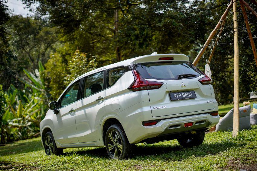 FIRST DRIVE: 2021 Mitsubishi Xpander review, RM91k Image #1233160