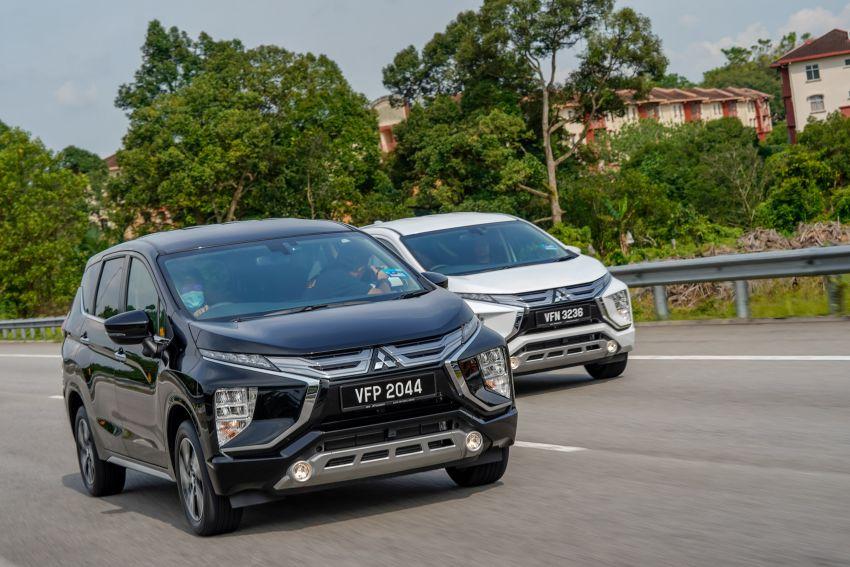 FIRST DRIVE: 2021 Mitsubishi Xpander review, RM91k Image #1233145