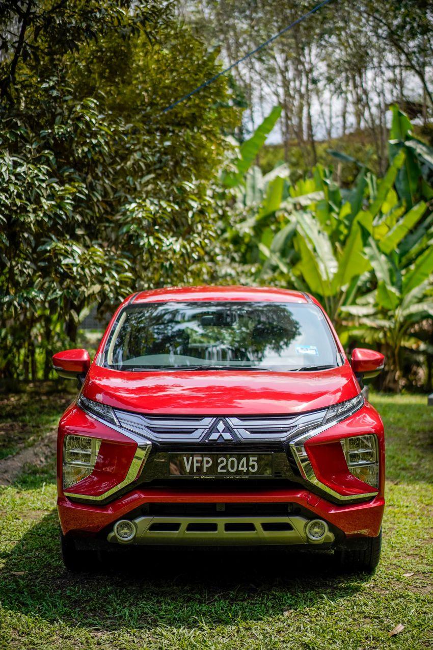 FIRST DRIVE: 2021 Mitsubishi Xpander review, RM91k Image #1233175