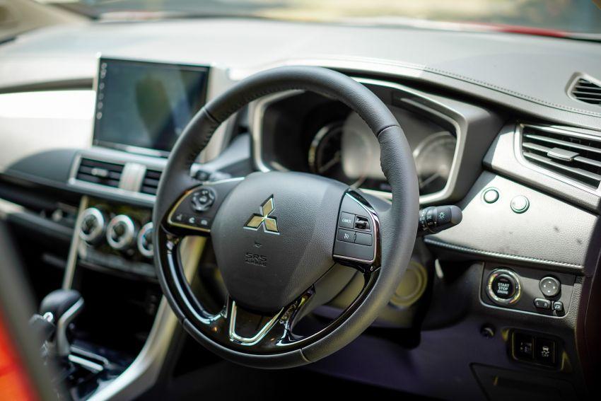 FIRST DRIVE: 2021 Mitsubishi Xpander review, RM91k Image #1233177