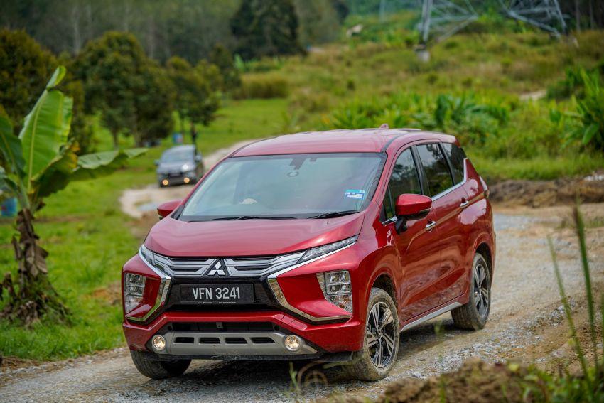 FIRST DRIVE: 2021 Mitsubishi Xpander review, RM91k Image #1233149