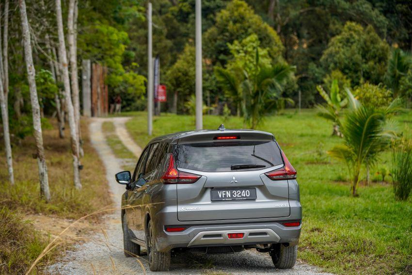 FIRST DRIVE: 2021 Mitsubishi Xpander review, RM91k Image #1233152