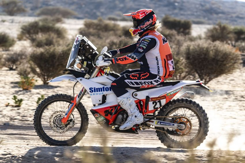 2021 Dakar Rally sees KTM's Toby Price lead the pack Image #1230423