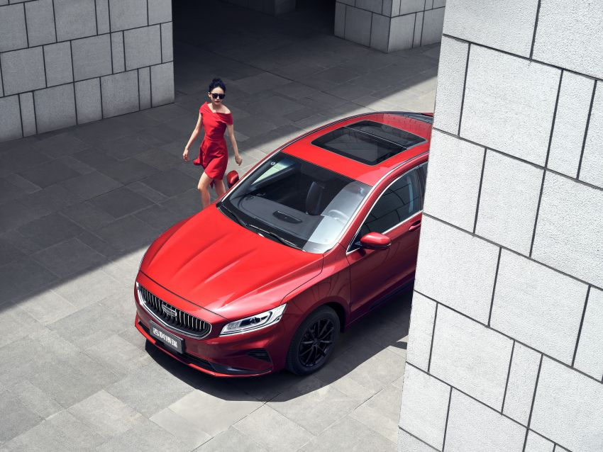 2021 Geely Borui facelift – first images appear online Image #1232442