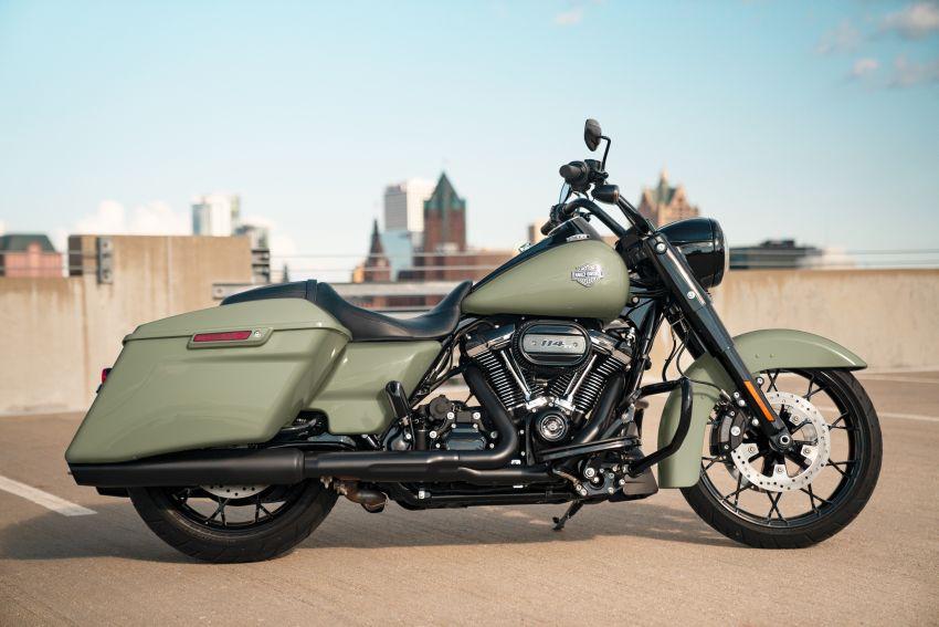 2021 Harley-Davidsons, 114 Street Bob joins lineup Image #1237477
