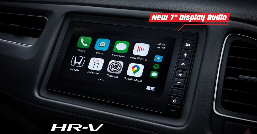 2021 Honda HR-V: 7-inch display with Apple CarPlay, Android Auto; LED headlights for hybrid, from RM104k Image #1234342