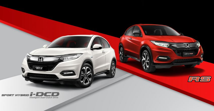 2021 Honda HR-V: 7-inch display with Apple CarPlay, Android Auto; LED headlights for hybrid, from RM104k Image #1234449