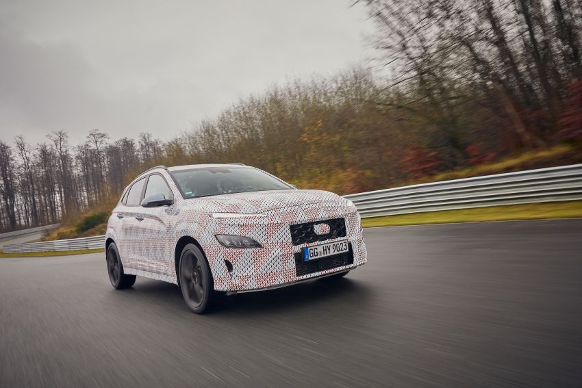 2021 Hyundai Kona N officially teased – hot SUV with 2.0L 4-cyl turbo, 8-speed DCT; 280 PS and 392 Nm? Image #1233755