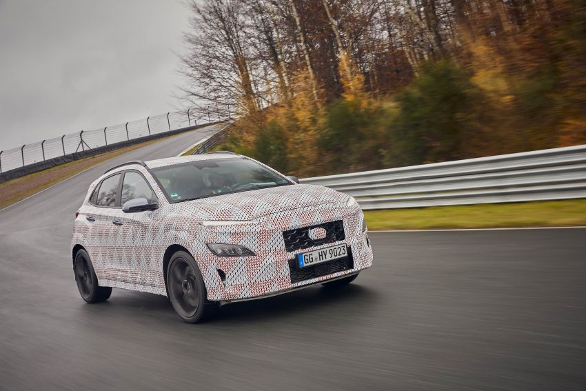 2021 Hyundai Kona N officially teased – hot SUV with 2.0L 4-cyl turbo, 8-speed DCT; 280 PS and 392 Nm? Image #1233757