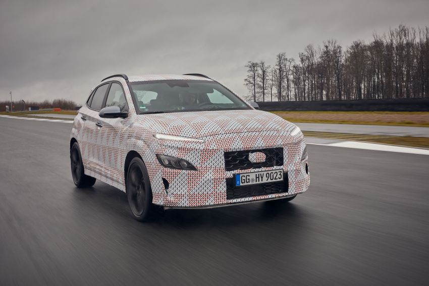 2021 Hyundai Kona N officially teased – hot SUV with 2.0L 4-cyl turbo, 8-speed DCT; 280 PS and 392 Nm? Image #1233767