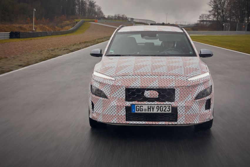 2021 Hyundai Kona N officially teased – hot SUV with 2.0L 4-cyl turbo, 8-speed DCT; 280 PS and 392 Nm? Image #1233769