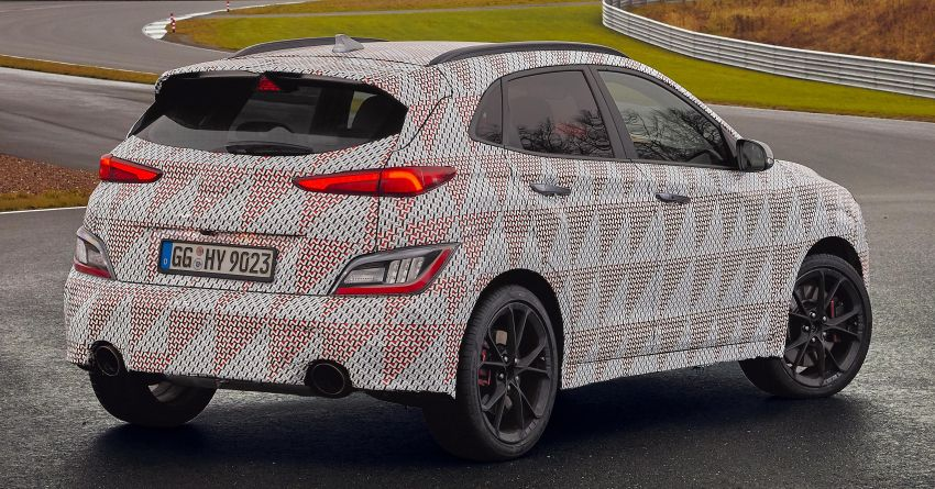 2021 Hyundai Kona N officially teased – hot SUV with 2.0L 4-cyl turbo, 8-speed DCT; 280 PS and 392 Nm? Image #1233746