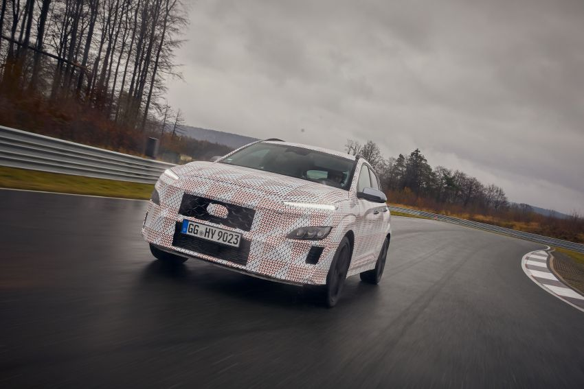 2021 Hyundai Kona N officially teased – hot SUV with 2.0L 4-cyl turbo, 8-speed DCT; 280 PS and 392 Nm? Image #1233777