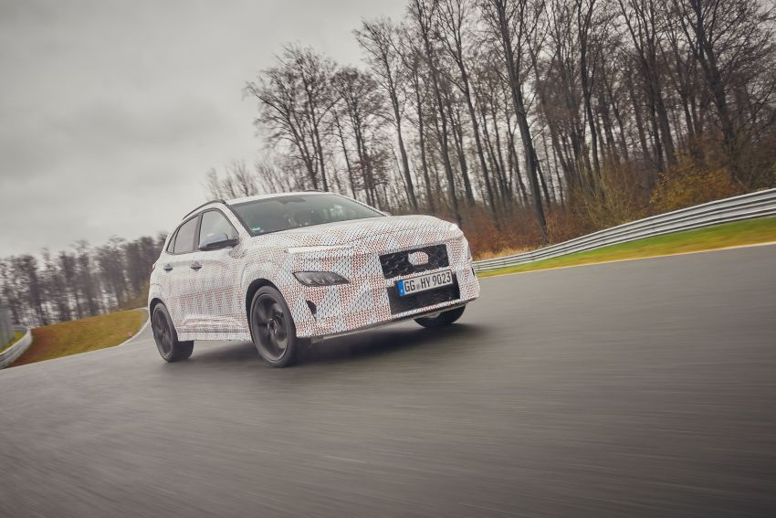 2021 Hyundai Kona N officially teased – hot SUV with 2.0L 4-cyl turbo, 8-speed DCT; 280 PS and 392 Nm? Image #1233779