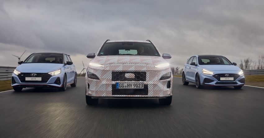 2021 Hyundai Kona N officially teased – hot SUV with 2.0L 4-cyl turbo, 8-speed DCT; 280 PS and 392 Nm? Image #1233781