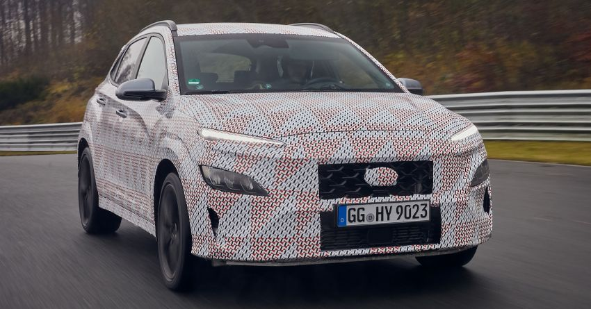 2021 Hyundai Kona N officially teased – hot SUV with 2.0L 4-cyl turbo, 8-speed DCT; 280 PS and 392 Nm? Image #1233747