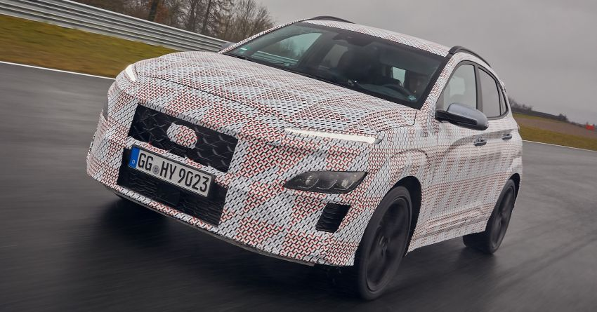 2021 Hyundai Kona N officially teased – hot SUV with 2.0L 4-cyl turbo, 8-speed DCT; 280 PS and 392 Nm? Image #1233748