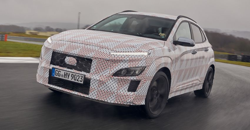 2021 Hyundai Kona N officially teased – hot SUV with 2.0L 4-cyl turbo, 8-speed DCT; 280 PS and 392 Nm? Image #1233749