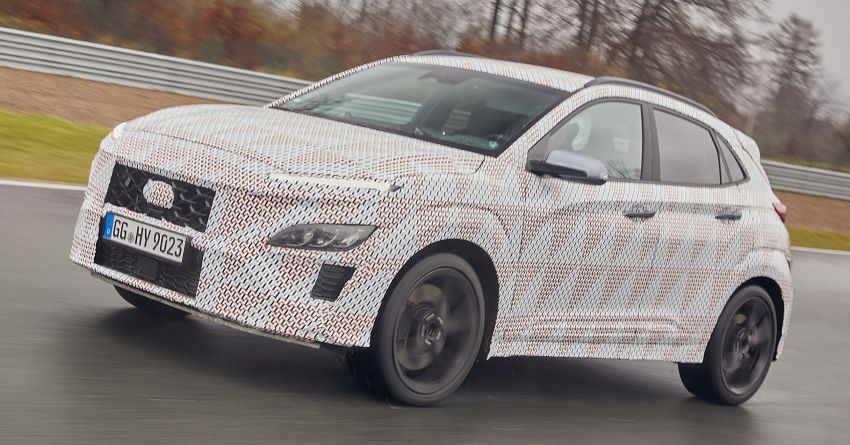 2021 Hyundai Kona N officially teased – hot SUV with 2.0L 4-cyl turbo, 8-speed DCT; 280 PS and 392 Nm? Image #1233750