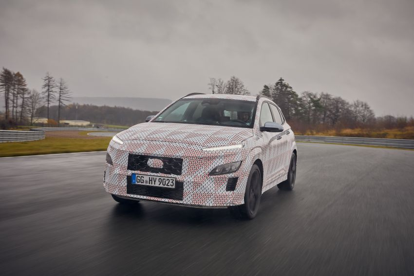 2021 Hyundai Kona N officially teased – hot SUV with 2.0L 4-cyl turbo, 8-speed DCT; 280 PS and 392 Nm? Image #1233751