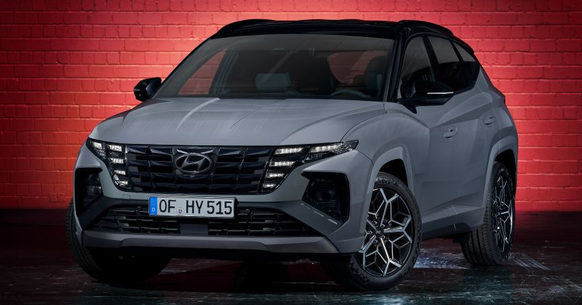2021 Hyundai Tucson N Line unveiled – electrified 1.6 T-GDI, PHEV with up to 265 PS, adaptive dampers Image #1240375
