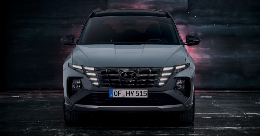 2021 Hyundai Tucson N Line unveiled – electrified 1.6 T-GDI, PHEV with up to 265 PS, adaptive dampers Image #1240370