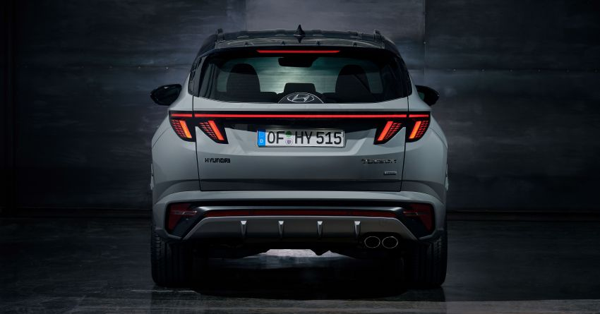 2021 Hyundai Tucson N Line unveiled – electrified 1.6 T-GDI, PHEV with up to 265 PS, adaptive dampers Image #1240371