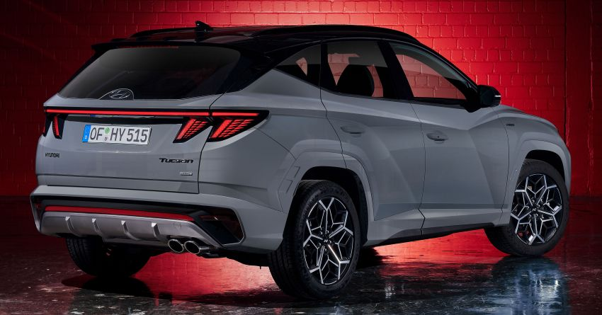 2021 Hyundai Tucson N Line unveiled – electrified 1.6 T-GDI, PHEV with up to 265 PS, adaptive dampers Image #1240373