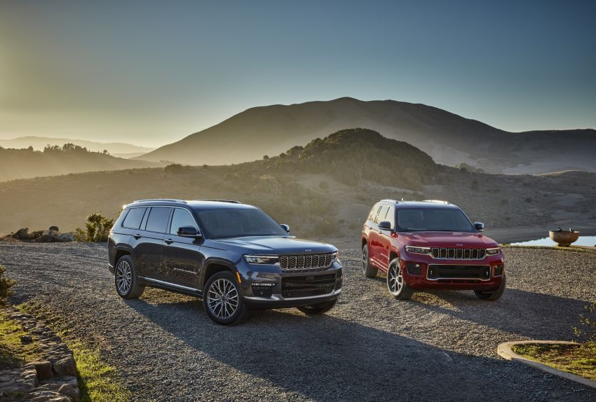 Fifth-generation Jeep Grand Cherokee – L version brings three rows of seats; 4xe PHEV due end 2021 Image #1232472