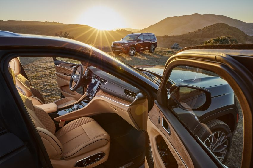 Fifth-generation Jeep Grand Cherokee – L version brings three rows of seats; 4xe PHEV due end 2021 Image #1232474