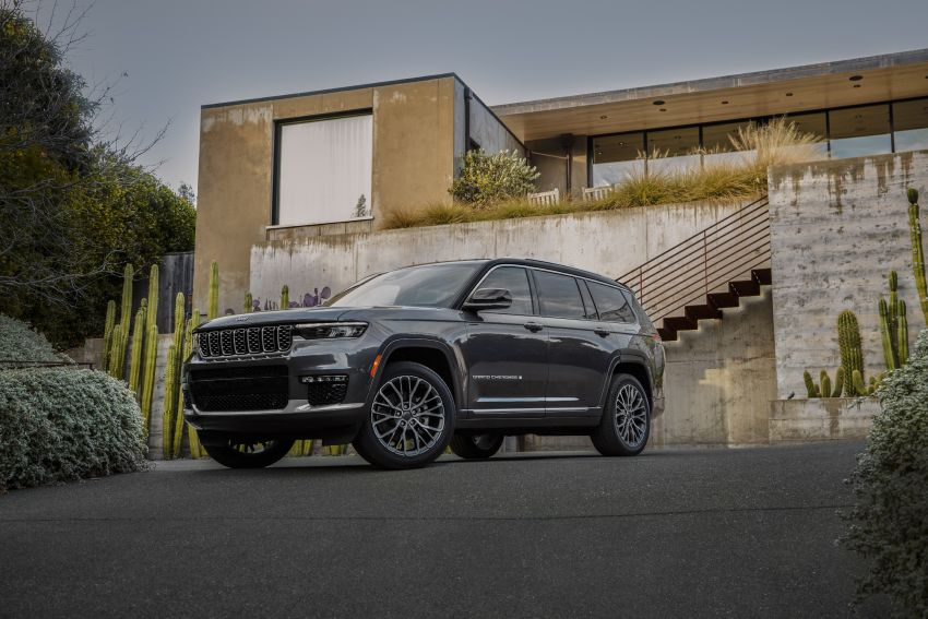 Fifth-generation Jeep Grand Cherokee – L version brings three rows of seats; 4xe PHEV due end 2021 Image #1232476