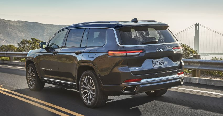 Fifth-generation Jeep Grand Cherokee – L version brings three rows of seats; 4xe PHEV due end 2021 Image #1232478