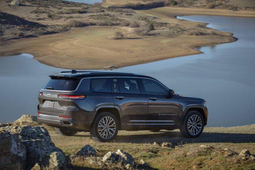 Fifth-generation Jeep Grand Cherokee – L version brings three rows of seats; 4xe PHEV due end 2021 Image #1232479