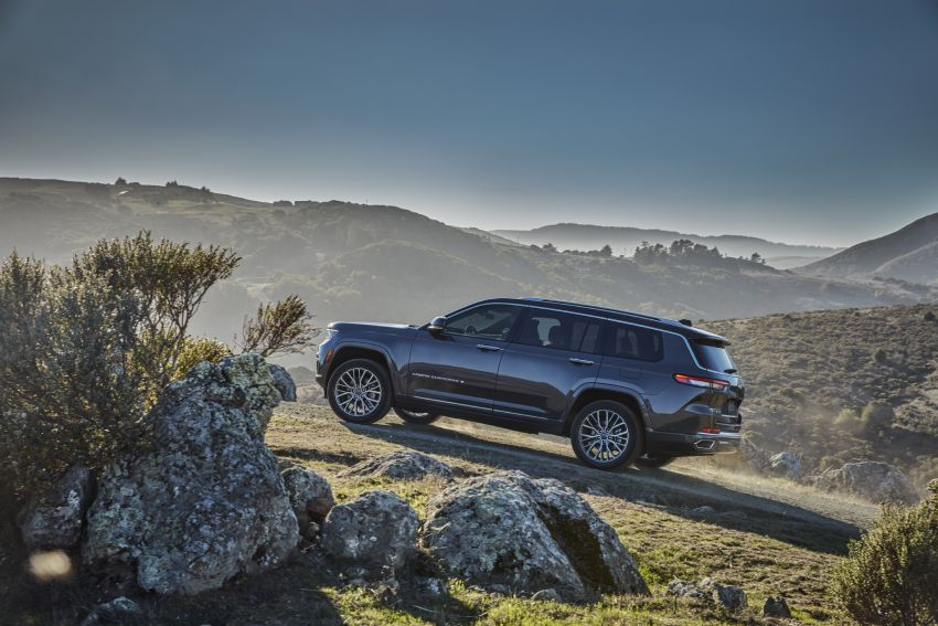 Fifth-generation Jeep Grand Cherokee – L version brings three rows of seats; 4xe PHEV due end 2021 Image #1232480