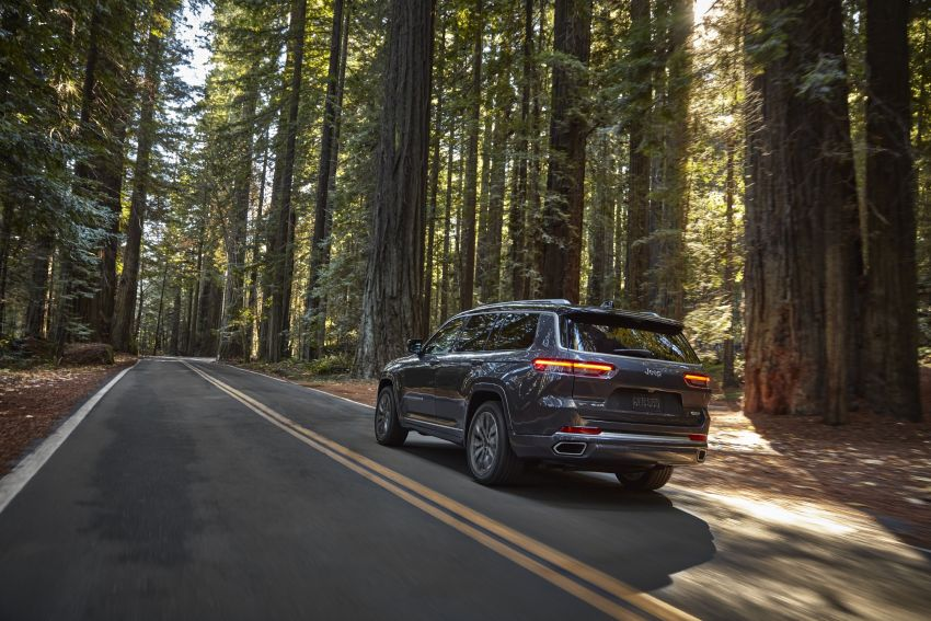 Fifth-generation Jeep Grand Cherokee – L version brings three rows of seats; 4xe PHEV due end 2021 Image #1232481