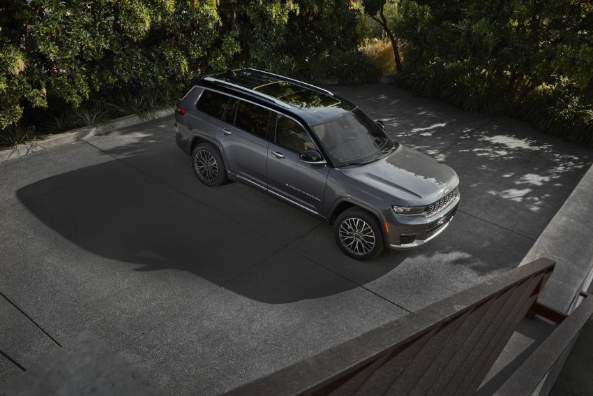 Fifth-generation Jeep Grand Cherokee – L version brings three rows of seats; 4xe PHEV due end 2021 Image #1232482