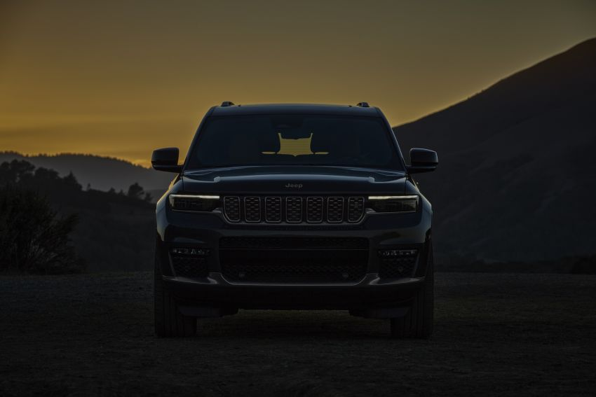 Fifth-generation Jeep Grand Cherokee – L version brings three rows of seats; 4xe PHEV due end 2021 Image #1232485