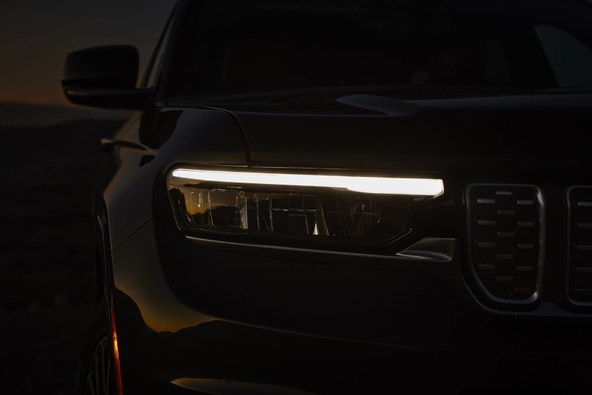 Fifth-generation Jeep Grand Cherokee – L version brings three rows of seats; 4xe PHEV due end 2021 Image #1232486