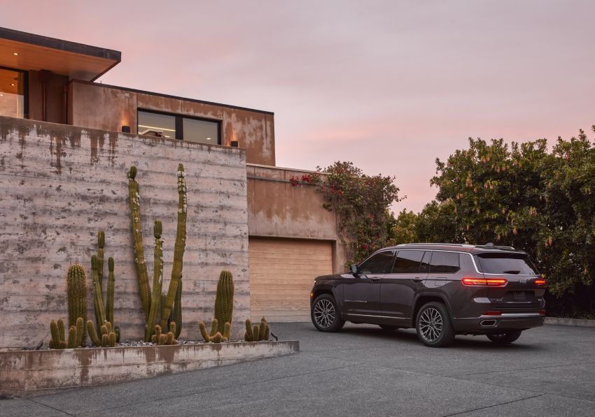 Fifth-generation Jeep Grand Cherokee – L version brings three rows of seats; 4xe PHEV due end 2021 Image #1232487