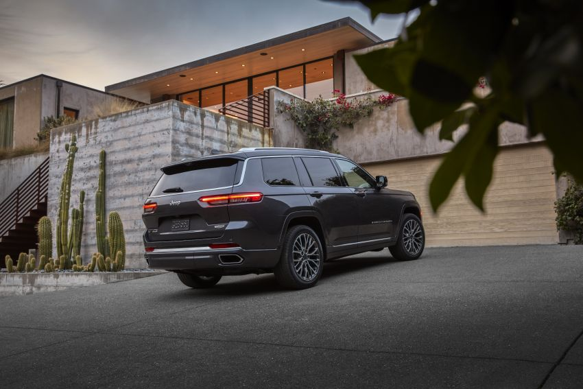 Fifth-generation Jeep Grand Cherokee – L version brings three rows of seats; 4xe PHEV due end 2021 Image #1232488