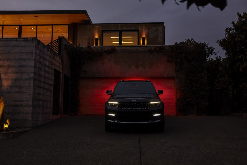 Fifth-generation Jeep Grand Cherokee – L version brings three rows of seats; 4xe PHEV due end 2021 Image #1232489