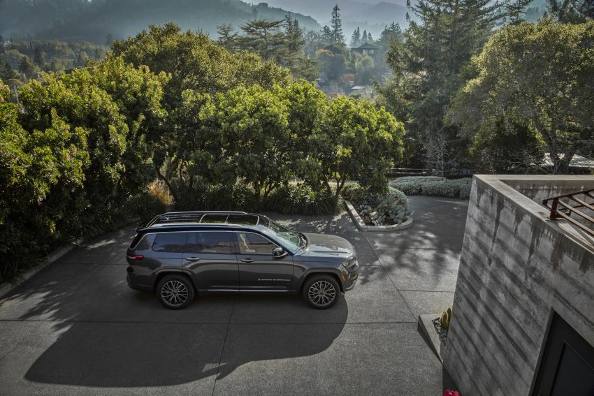 Fifth-generation Jeep Grand Cherokee – L version brings three rows of seats; 4xe PHEV due end 2021 Image #1232490