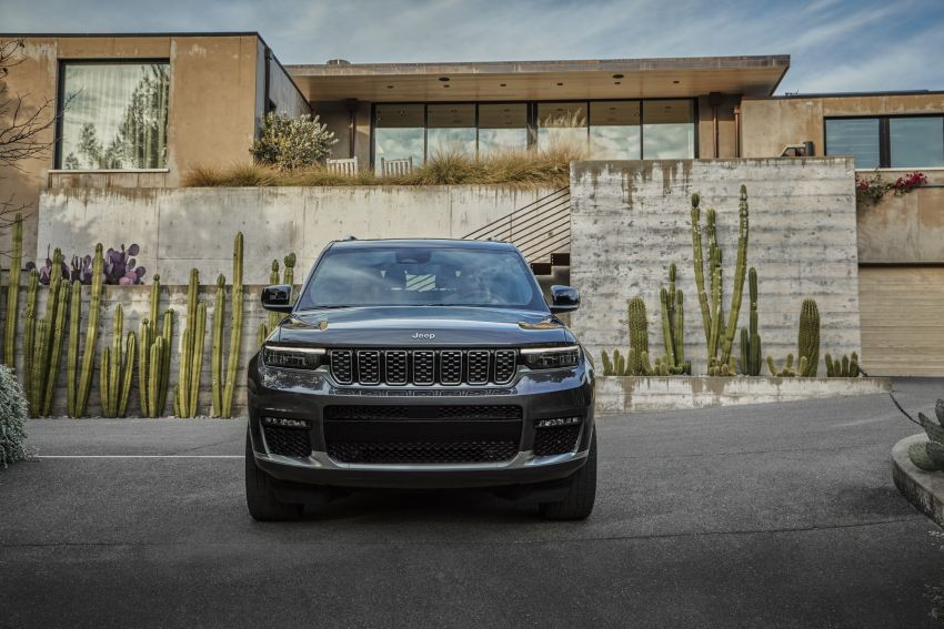 Fifth-generation Jeep Grand Cherokee – L version brings three rows of seats; 4xe PHEV due end 2021 Image #1232491