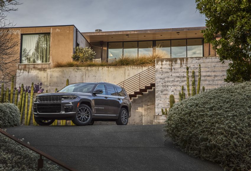 Fifth-generation Jeep Grand Cherokee – L version brings three rows of seats; 4xe PHEV due end 2021 Image #1232493