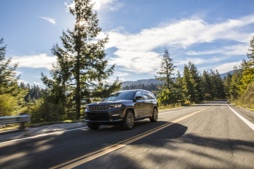 Fifth-generation Jeep Grand Cherokee – L version brings three rows of seats; 4xe PHEV due end 2021 Image #1232494