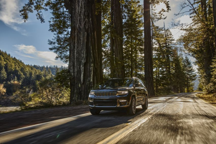 Fifth-generation Jeep Grand Cherokee – L version brings three rows of seats; 4xe PHEV due end 2021 Image #1232495