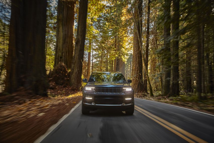 Fifth-generation Jeep Grand Cherokee – L version brings three rows of seats; 4xe PHEV due end 2021 Image #1232496