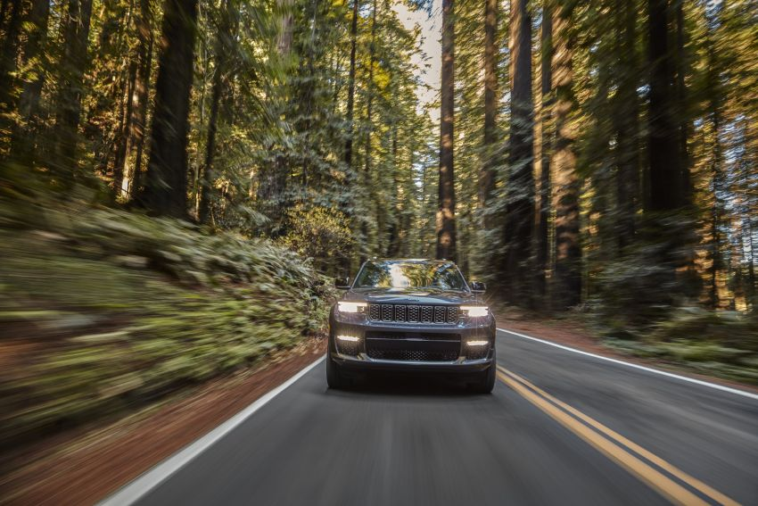 Fifth-generation Jeep Grand Cherokee – L version brings three rows of seats; 4xe PHEV due end 2021 Image #1232497