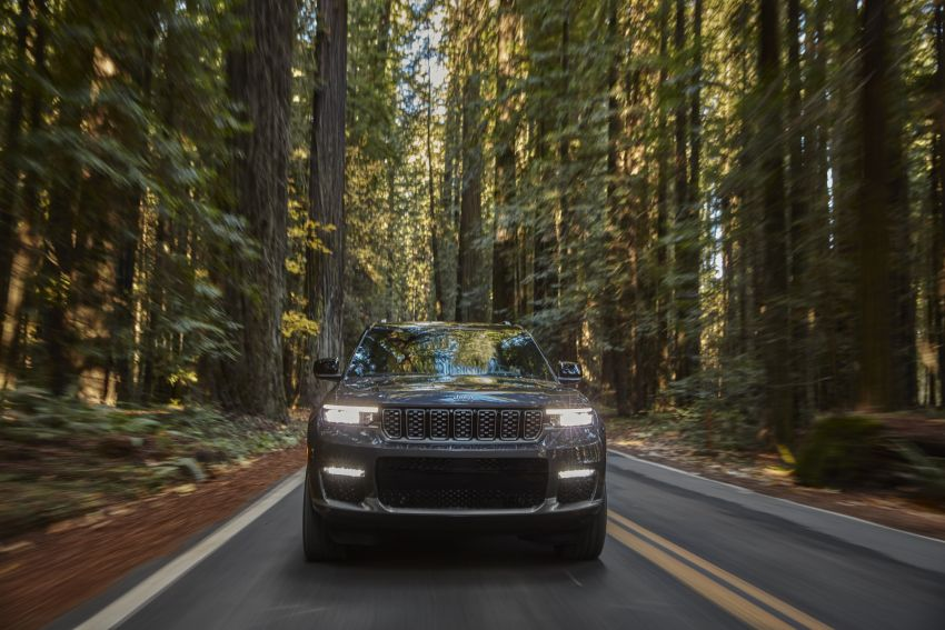 Fifth-generation Jeep Grand Cherokee – L version brings three rows of seats; 4xe PHEV due end 2021 Image #1232498